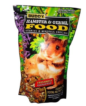 Buddy Hamster and Gerbil Food 570 gm