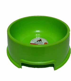 Plastic Dog Bowl Large