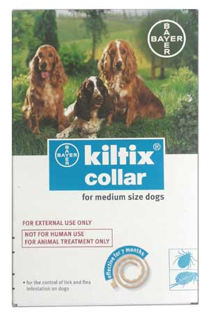 Bayer Kiltix Anti Tick and Flea Dog Collar Medium