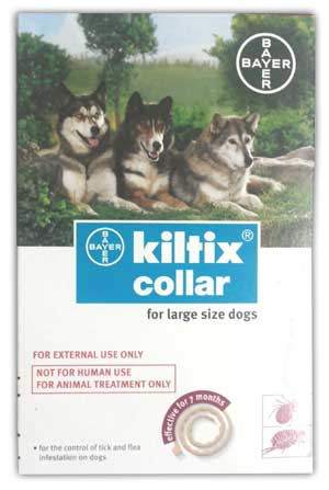 Bayer Kiltix Anti Tick and Flea Dog Collar Large