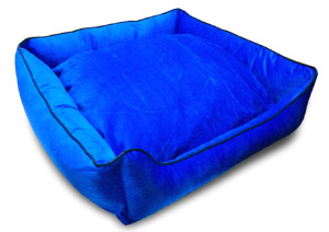 Dog and Cat Sofa in Blue Color Medium