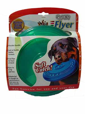Puppy Toy Super Flyer Soft Catch Small