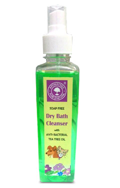 Aromatree Soap Free Dry Bath Cleanser For Pets 240 ml