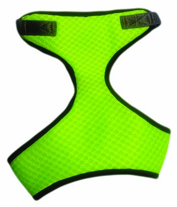Kanopi Imported Padded Soft Harness M Size Green for Puppies