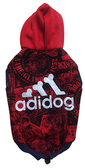 Dog Hoodie Adidog For Small Dogs S16