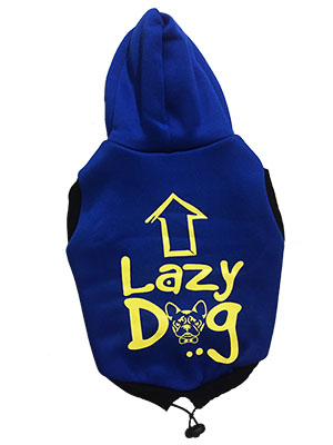 Dog Hoodie Lazy Dog For Medium And Large Dogs S26