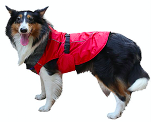 Imported Dog Jacket Red XXXL For Large Dogs