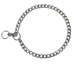 Dog Collar Choke Chain Medium