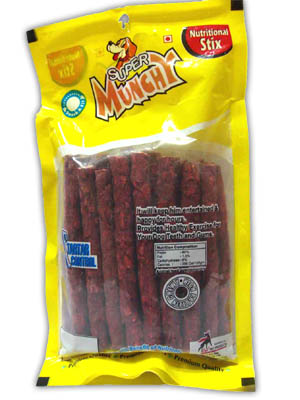 Munchy Nutritional Stix 10x1 Mutton Flavour