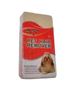Pet Hair Remover for removing pet hair from all surfaces