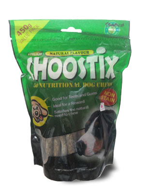 Choostix Natural Flavour 450gm