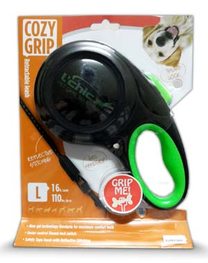 Cozy Grip Retractable 16 ft Leash Large